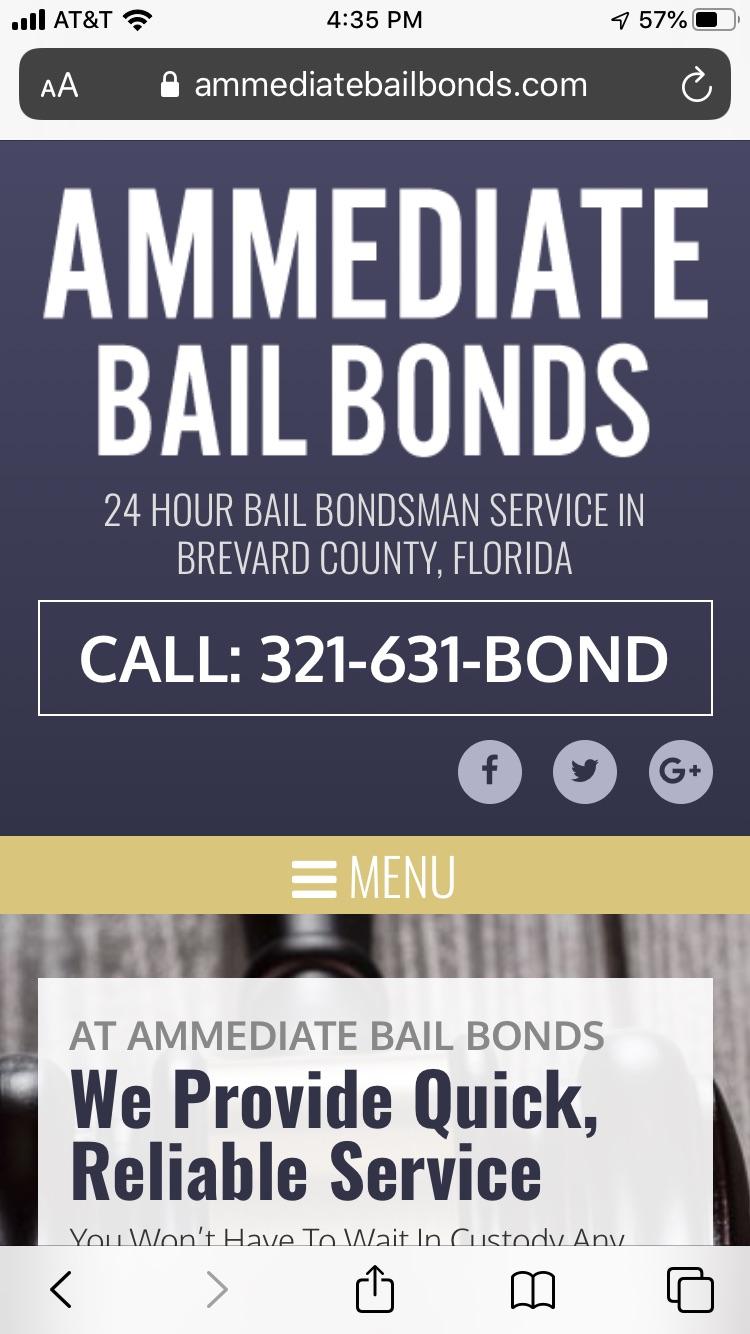 Mobile Bail Bond Websites