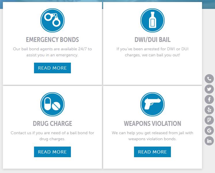 Category Block Web Design Feature