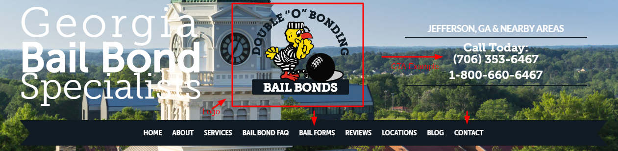 Conversion-Friendly Bail Website for Leads