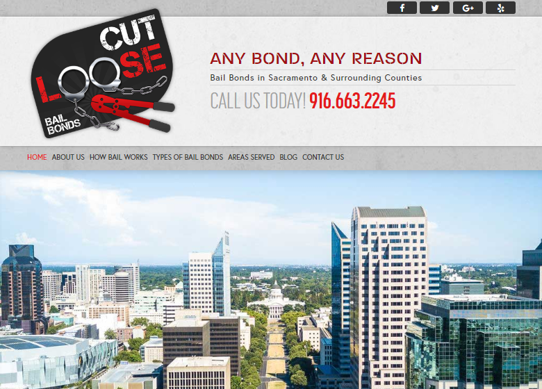 Cut Loose Homepage