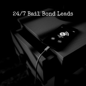 Phone on Nightstand for 24/7 Bail Bond Leads