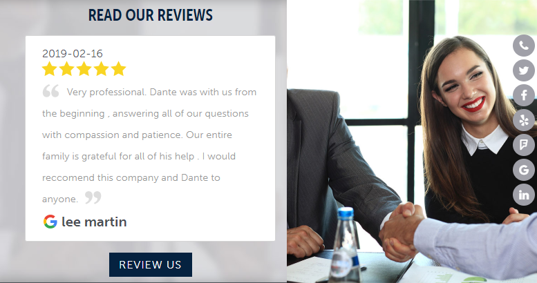 Integrating Reviews into a Website Design